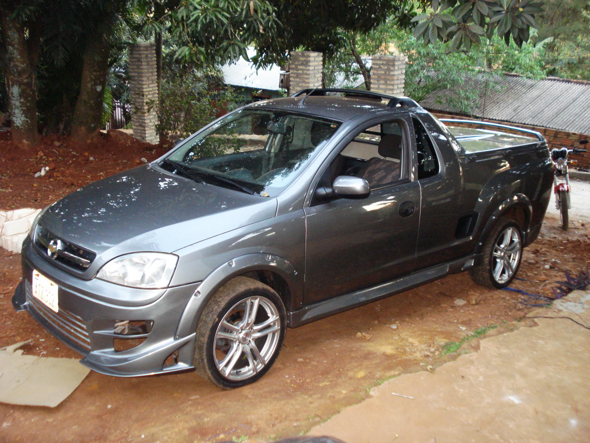 Chevrolet montana tuning - Motores.com.py