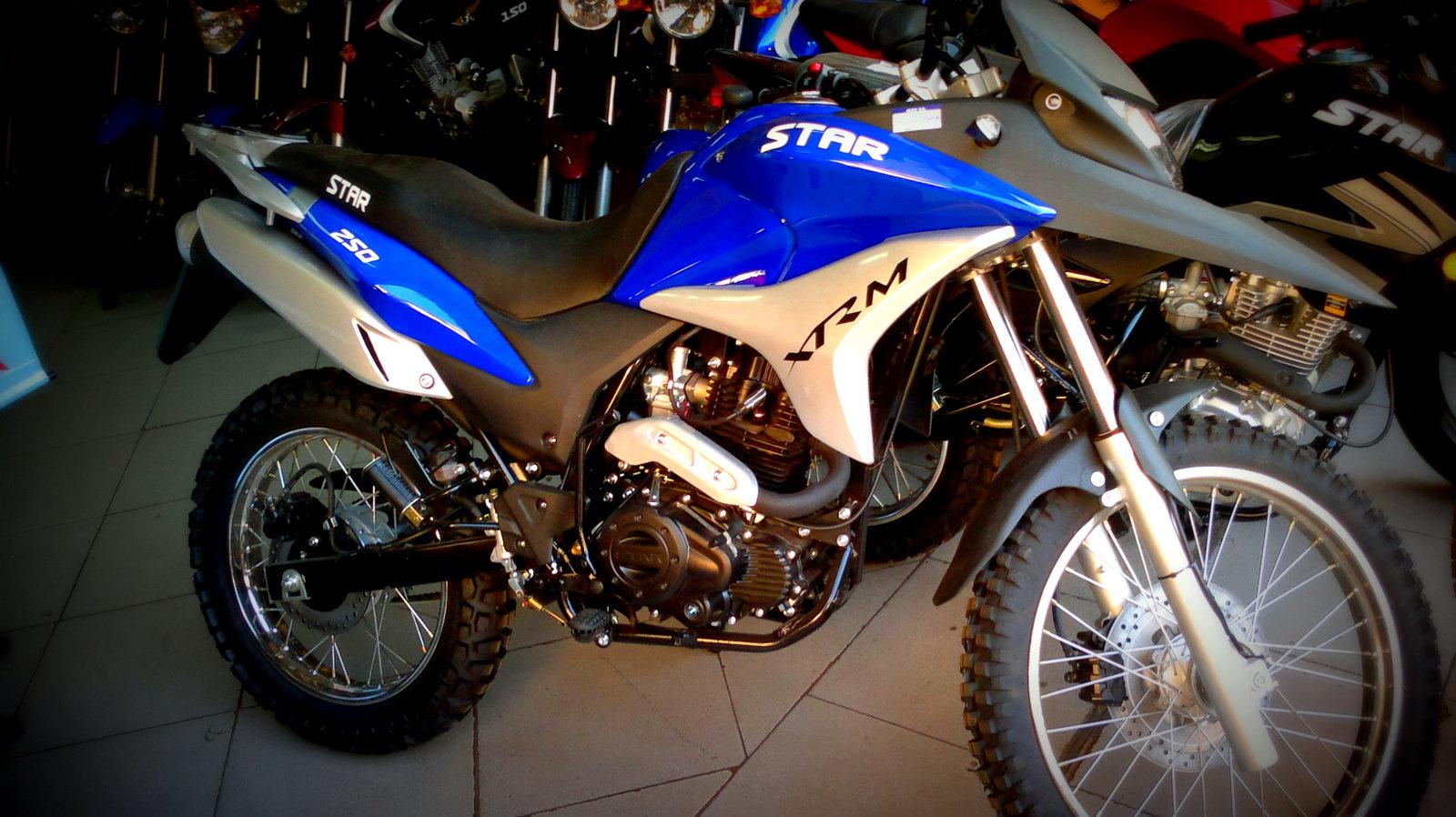 Nueva star xrm 250 vs kenton hunter 250 - Motores com py