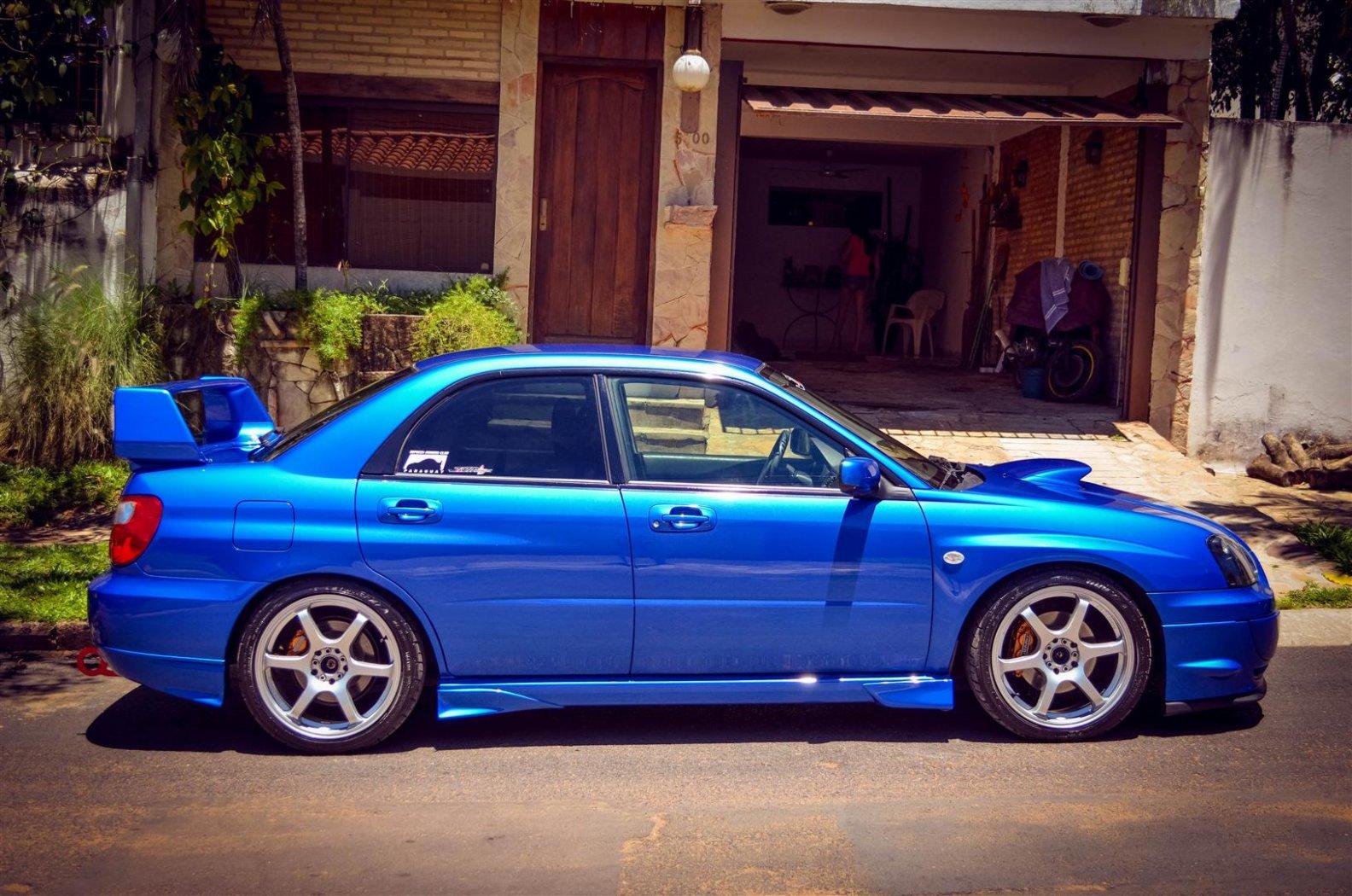 Subaru Impreza 2004 Wrx Jdm Motores Com Py