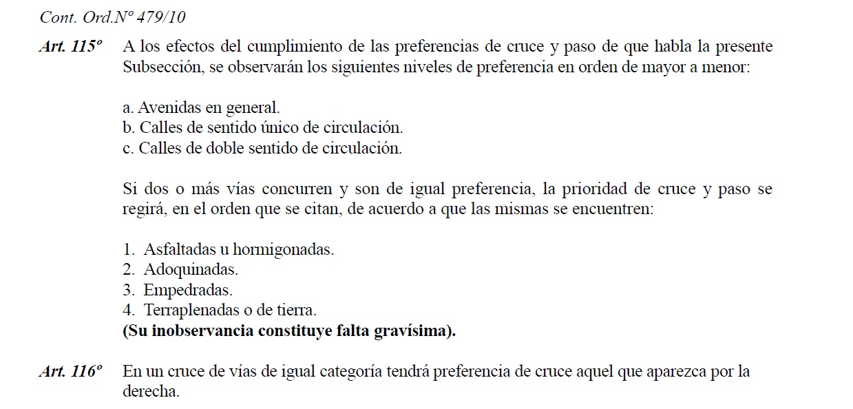 Ley municipal de transito ASUNCION cruces.jpg